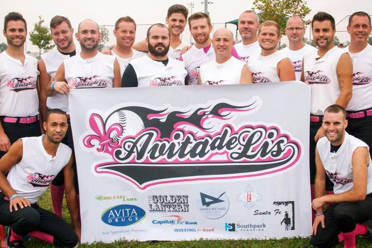 New Orleans Avita de Lis played in the Gay Softball World Series 2013