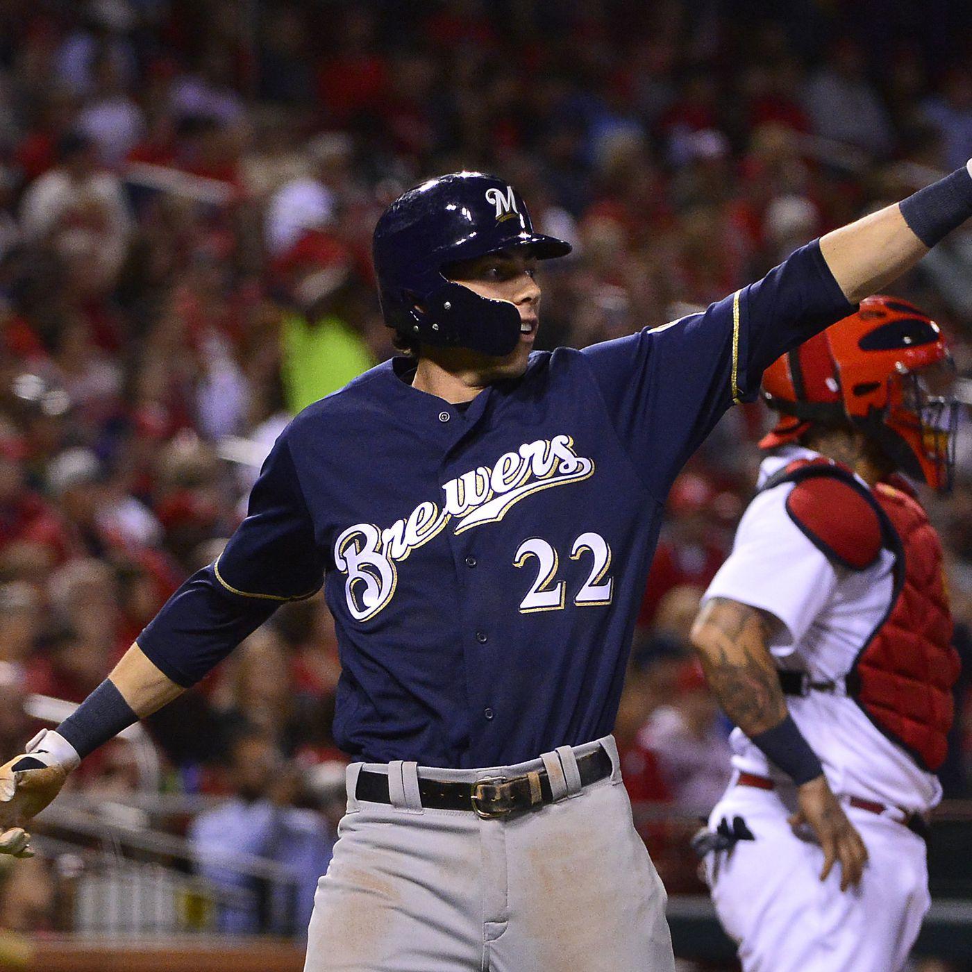 Christian Yelich Milwaukee Brewers New Arrivals Legend Baseball Player Jersey