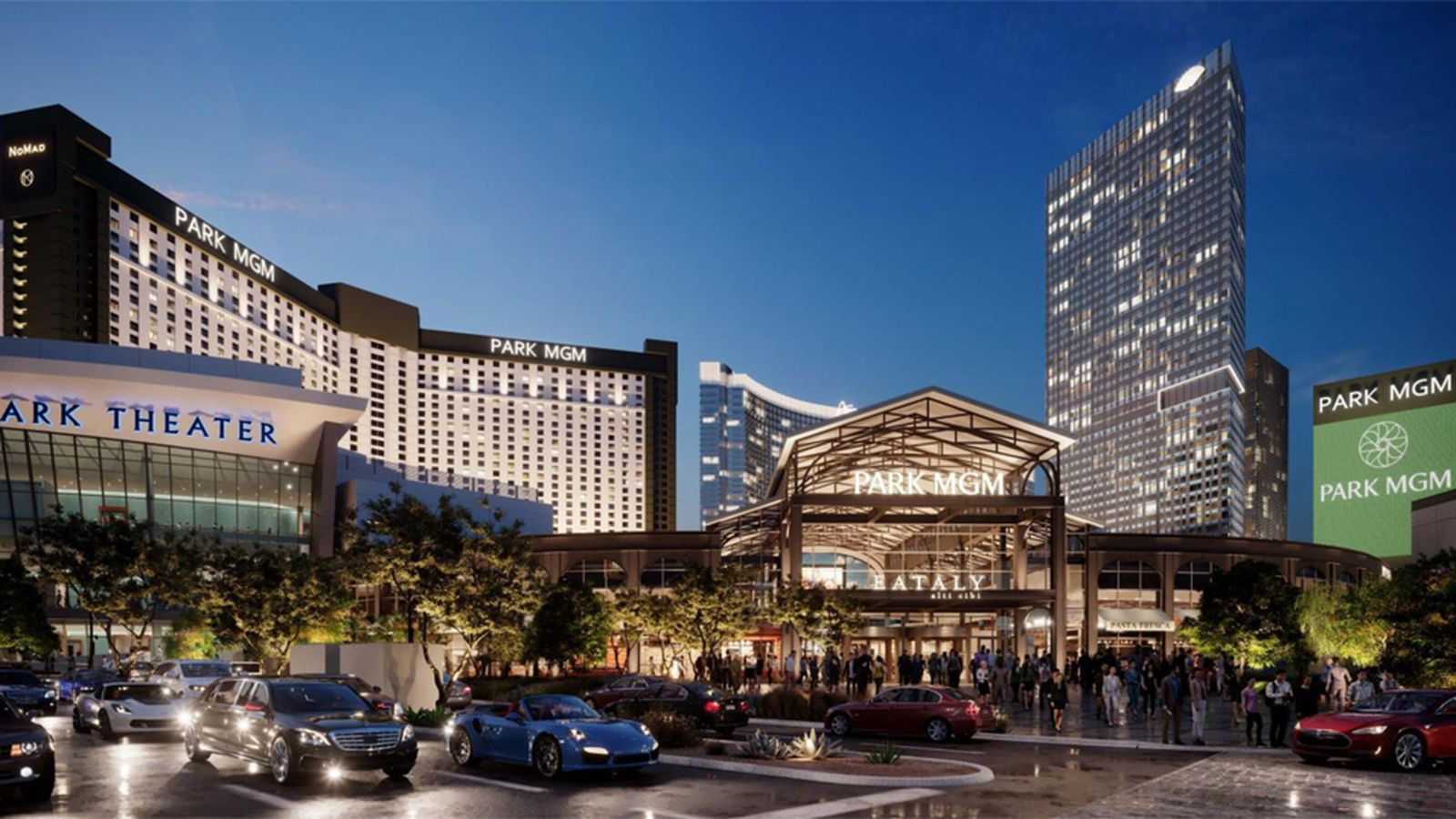 Behold Eataly A New Strip Bridge And The Park Mgm