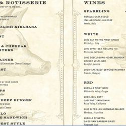 """The menu for Pilsener Haus. <a href=""""http://ny.eater.com/uploads/menularge.jpg"""" rel=""""nofollow"""">Click to enlarge</a>."""