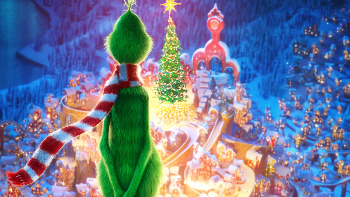 Dr Seuss Christmas.The Grinch Review A Christmas Classic Remake Totally