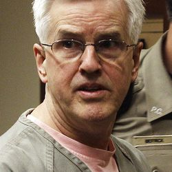 Steve Powell appears in a Pierce County Superior Court hearing, Tuesday, April 24, 2012, in Tacoma, Wash.