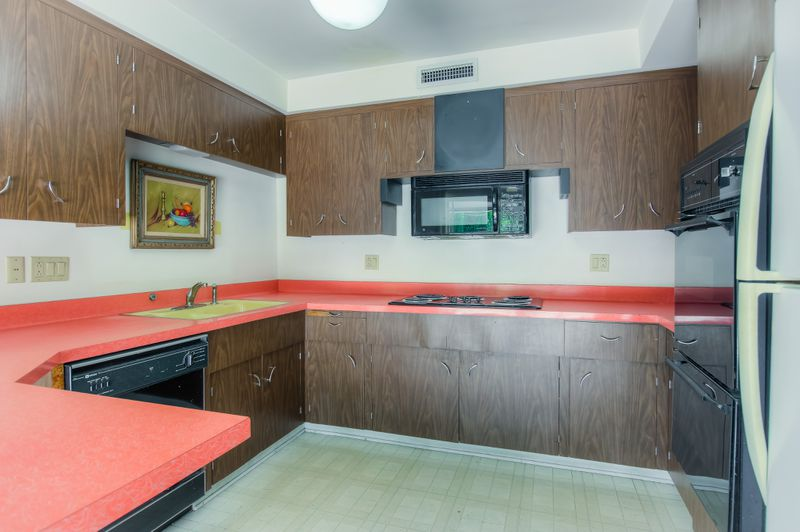 original kitchen design. Located off Reseda Boulevard and Lassen Street  it sits a cul de sac on generous 38 acres features pool Northridge midcentury with original kitchen asks 750K