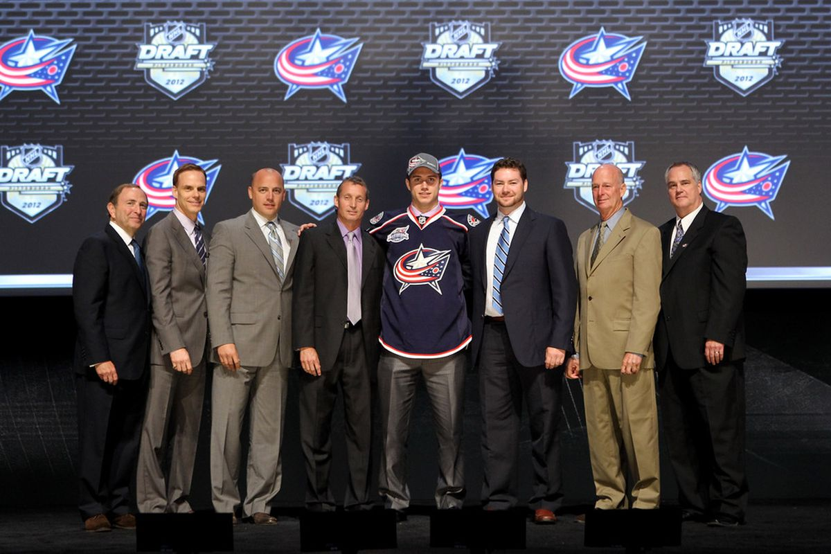 Who'll come to the stage when the Jackets draft this year?