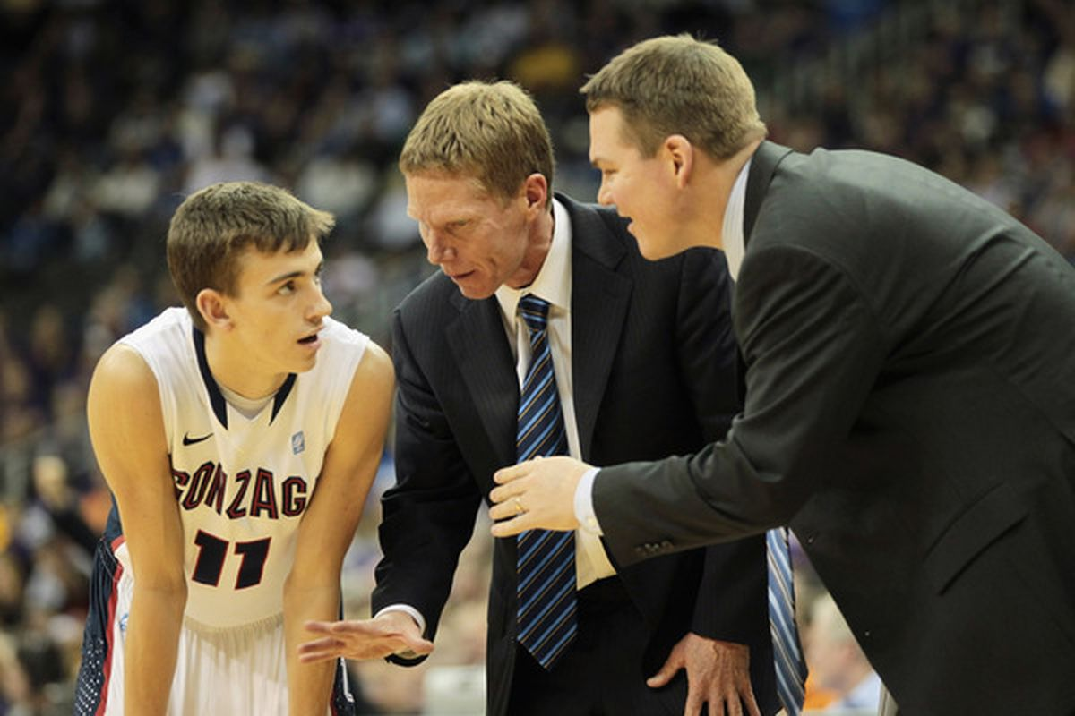 Mark Few and Tommy Lloyd have been together on the Gonzaga staff since 2001/2002.