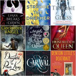 """YA & Wine book club founders Krysti Meyer and Sarah Cleverly recommend, among the other books pictured here, """"Aristotle and Dante Discover the Secrets of the Universe"""" and """"Denton Little's Deathdate."""""""
