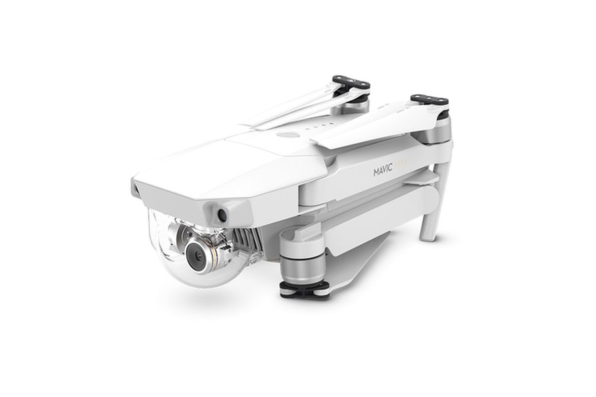 DJI launches limited edition white Mavic Pro