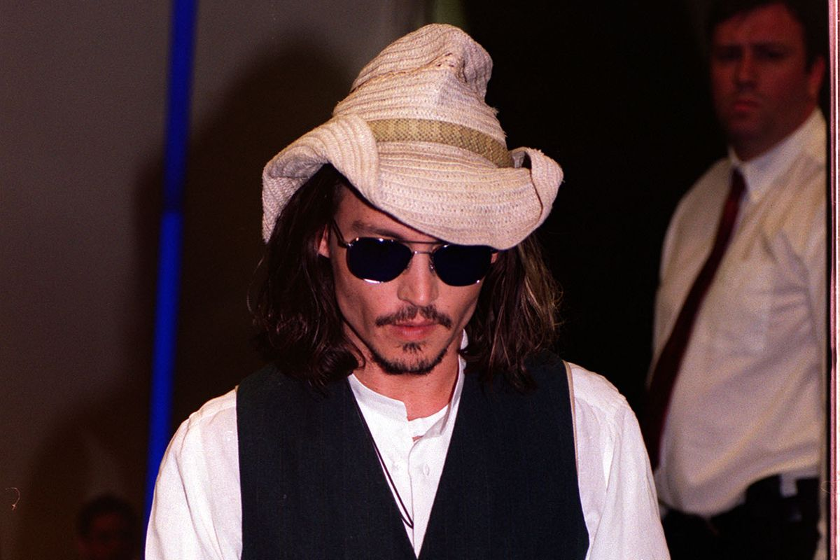 Blow premiere Johnny Depp