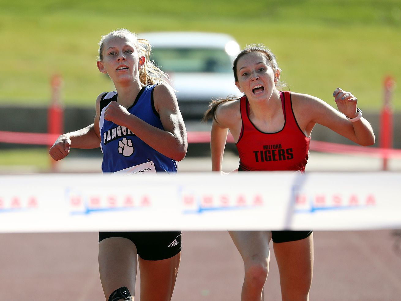 High school cross-country: Adelaide Englestead's dramatic finish helps Panguitch girls claim 1A title, boys title goes to Piute