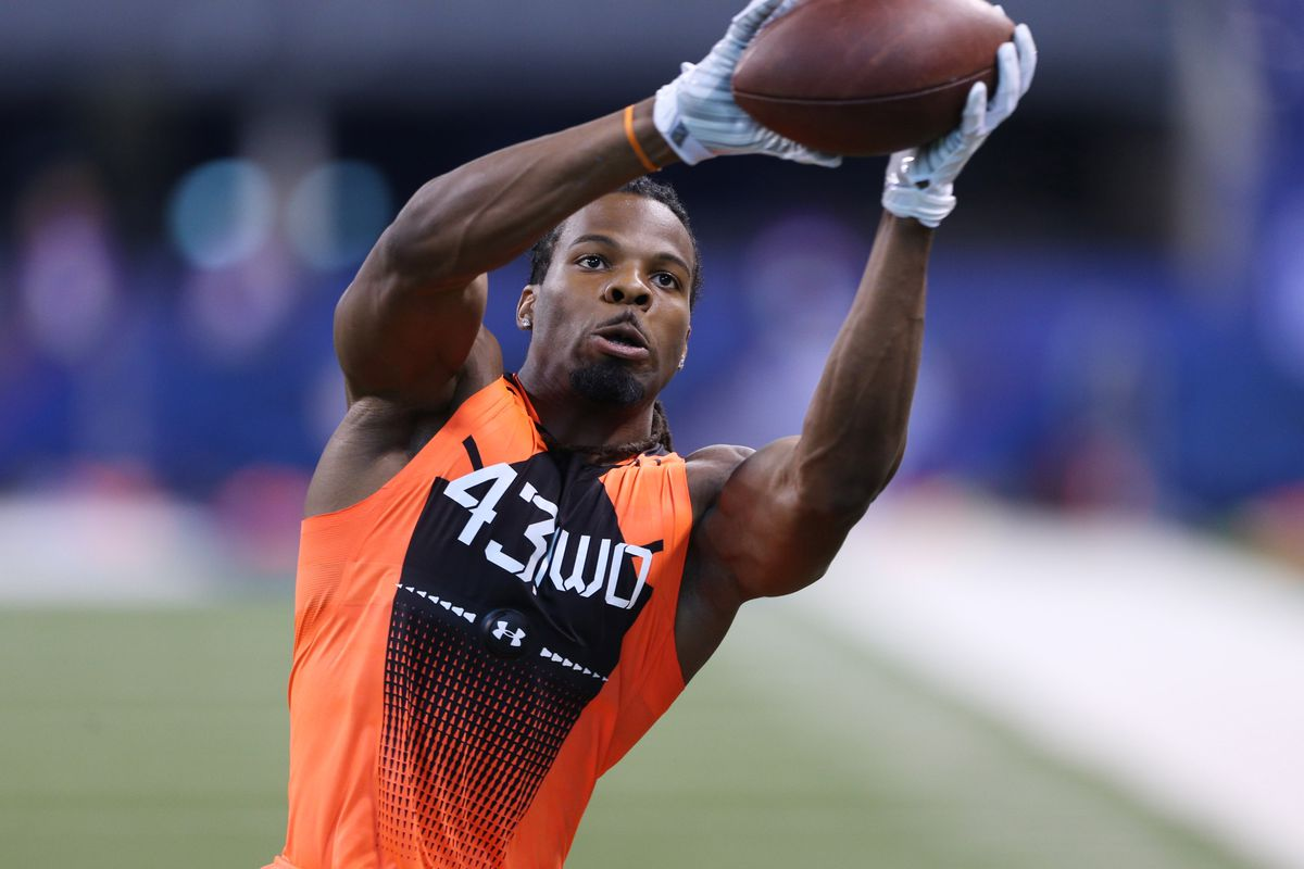 Kevin White during the Combine