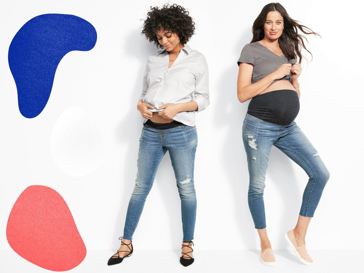 5ed1053b366a1 Looks from Target's Isabel Maternity collection. Photo: Target. ""