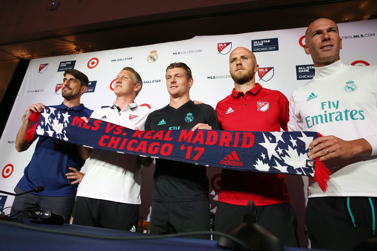 MLS: MLS All-Star-Joint Team Press Conference