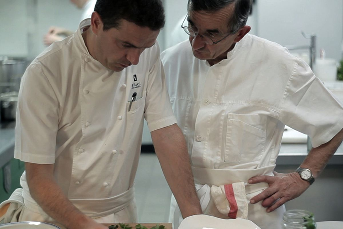 Sébastien and Michel Bras
