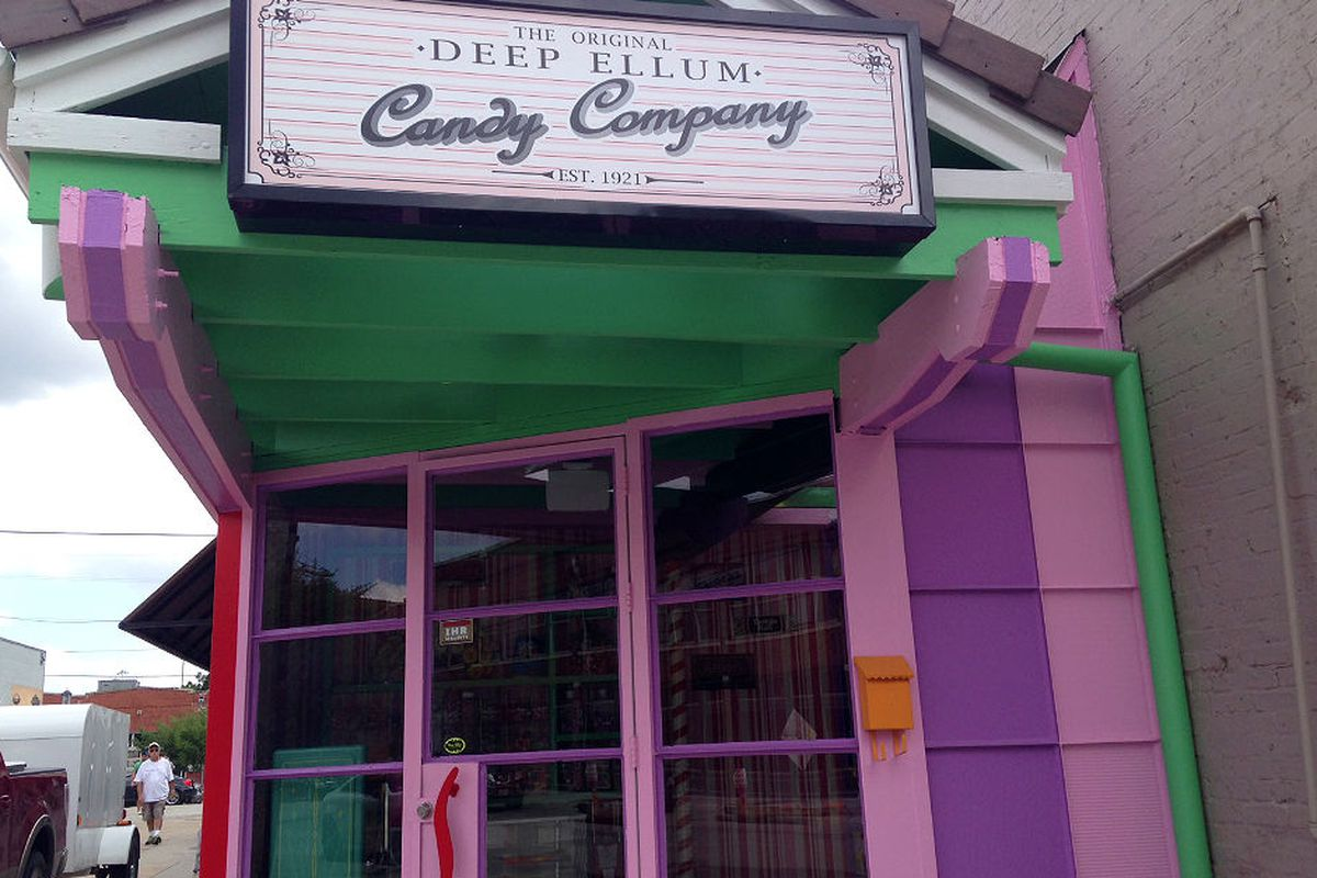 Hey look, it's a candy shop! (Or a bar.)