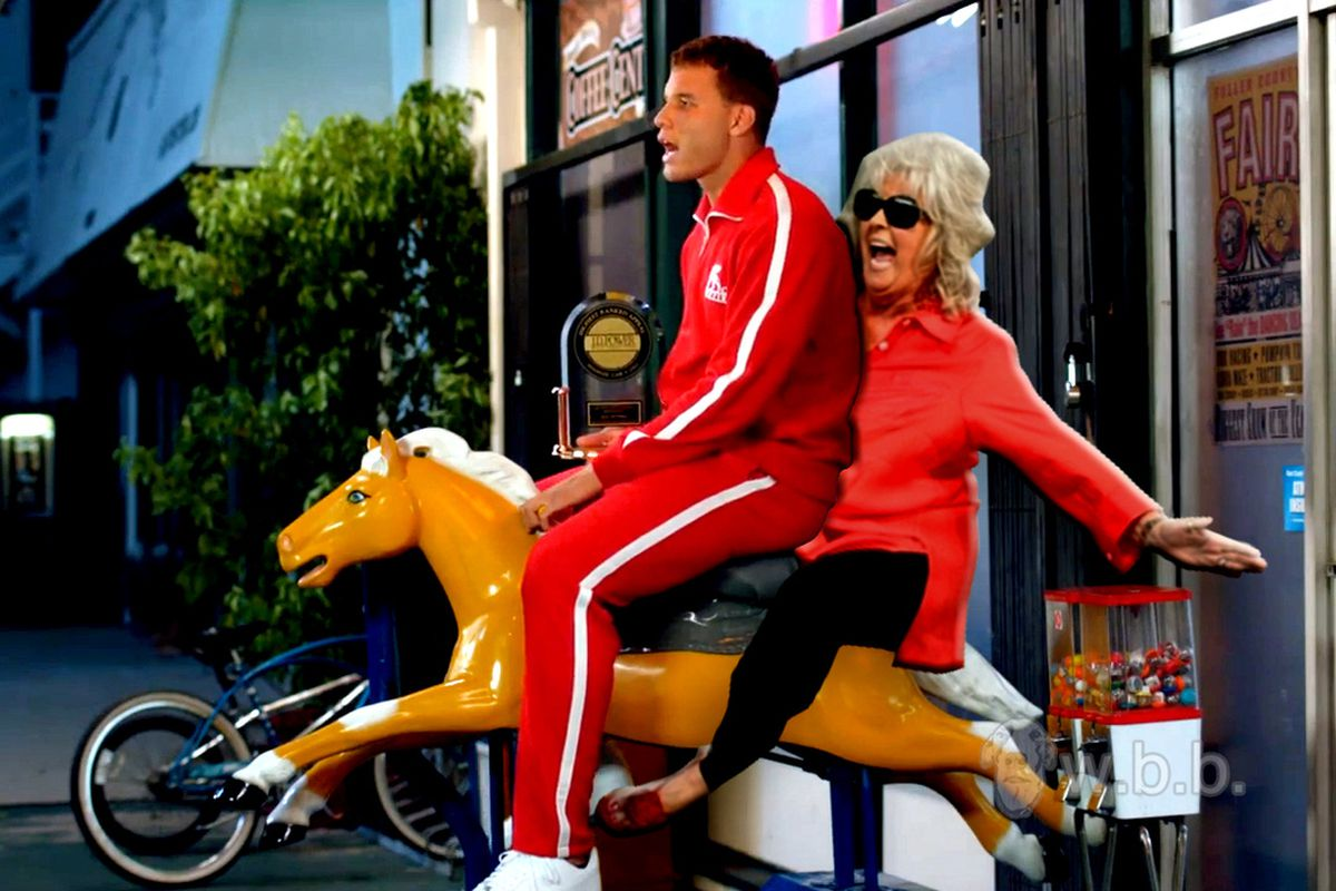 Blake Griffin could not evade the Thunder nor Paula Deen
