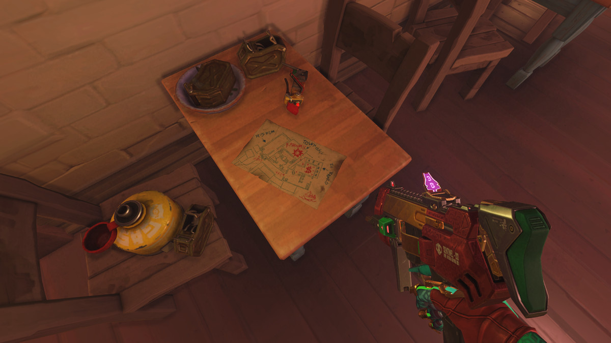 This table seems to be where the Junkers planned a heist.