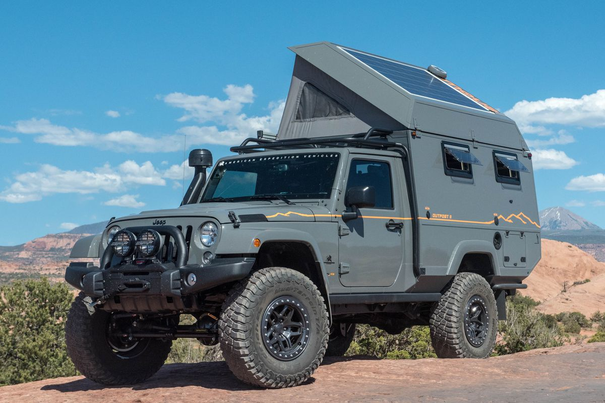Best Overland Vehicles >> Off Road Camper This Burly Truck Is Expedition Ready Curbed