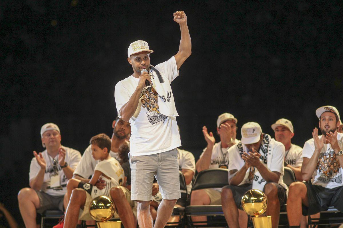 San Antonio Spurs Championship Celebration