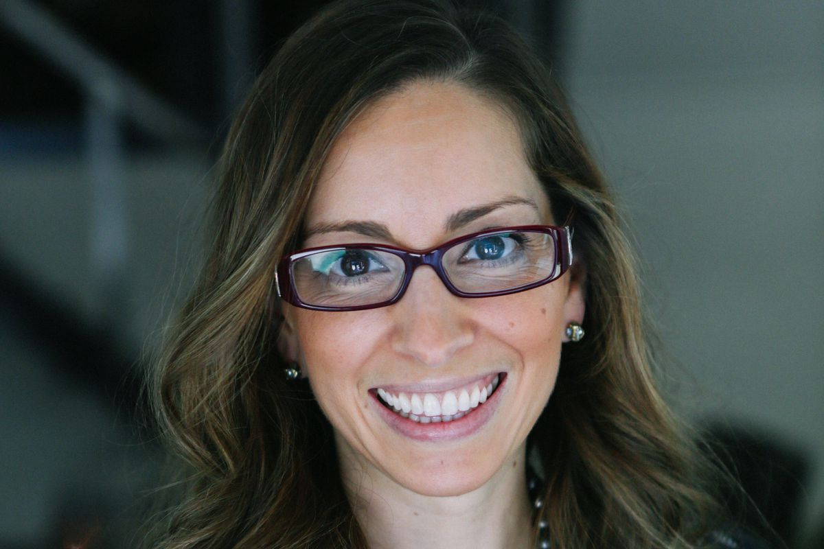 Leah Busque is sitting and is the executive chair of TaskRabbit. She is headed to Fuel Capital.