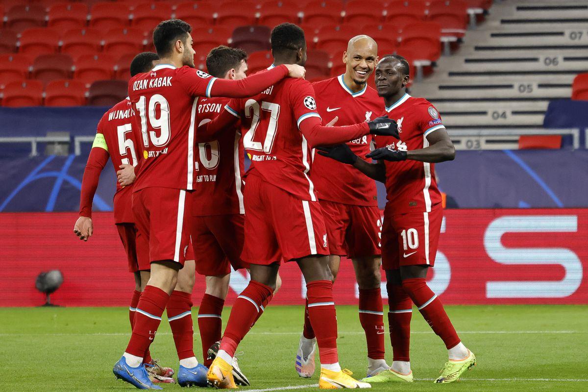 Liverpool FC v RB Leipzig - UEFA Champions League Round Of 16 Leg Two