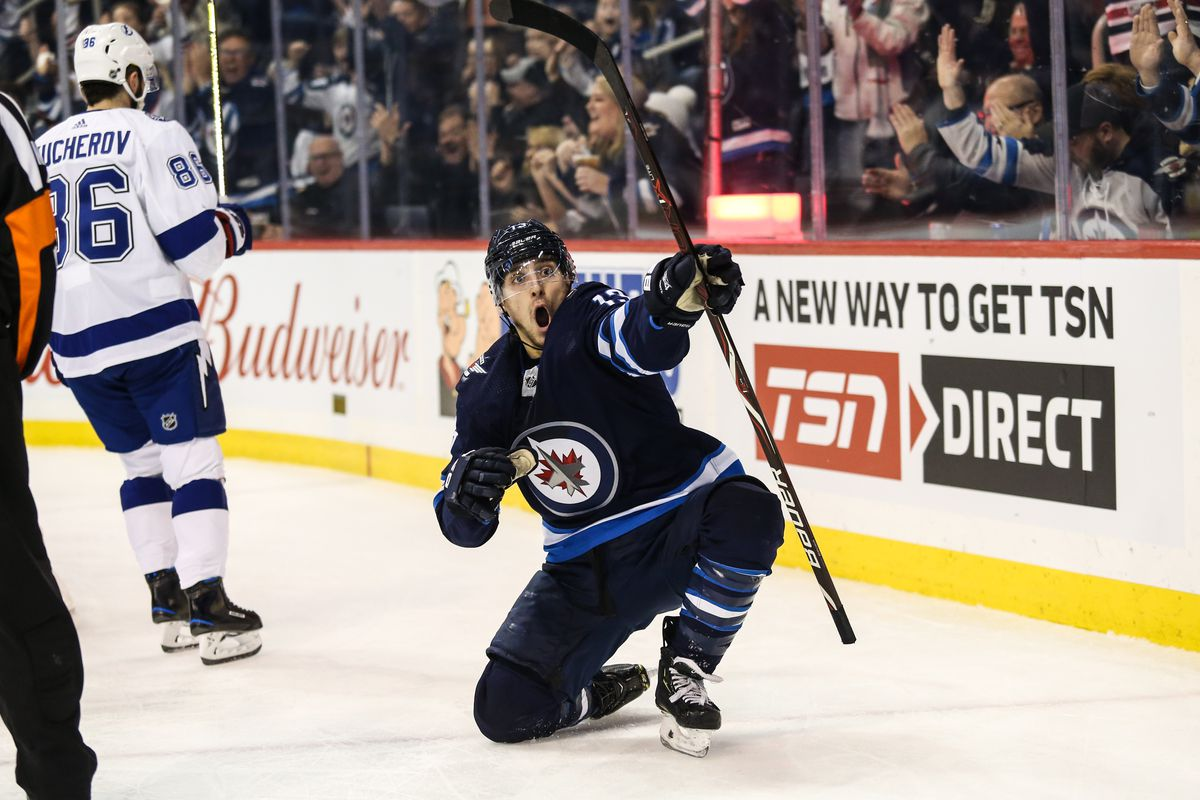 Weekly Jets Anxiety Level Check In Week 10 Arctic Ice Hockey