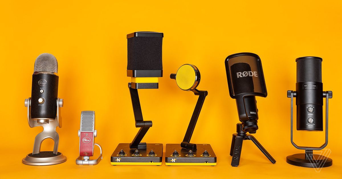 The best microphones to start podcasting with via The Verge   Careers in New Media