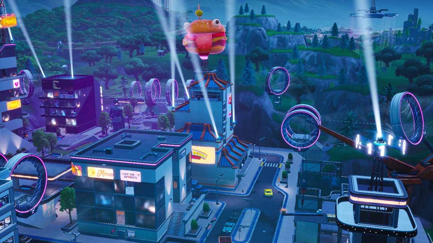 Fortnite Dance At Durr Burger Find Fortnite S Tomato Durr Burger And Giant Onion With Our Map Polygon