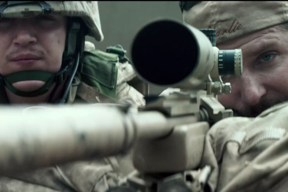 Every movie rewrites history  What American Sniper did is much, much
