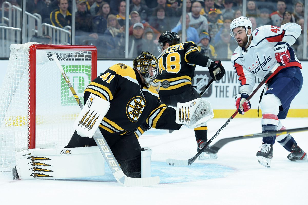 RECAP: Bruins fall in shootout to Capitals, despite leading with a minute remaining in regulation