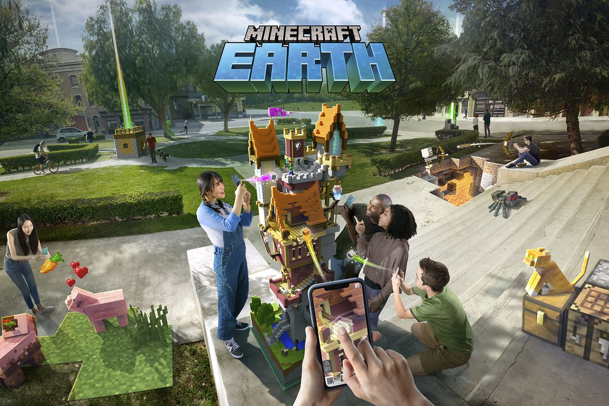 Minecraft Earth promotional image