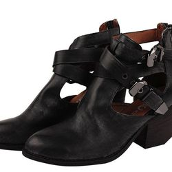 """<a href=""""http://www.lorisshoes.com/jeffrey-campbell-everwell.html"""">Jeffrey Campbell Everwell</a>, $154.95 at Lori's <br><b>Boots.</b> Dust off your boots from last season. Chances are someone will accidentally step on your foot and your shoes will get di"""