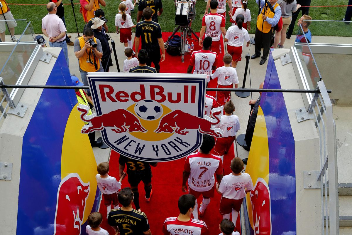 Go Red Bulls. This is an article about Red Bulls.