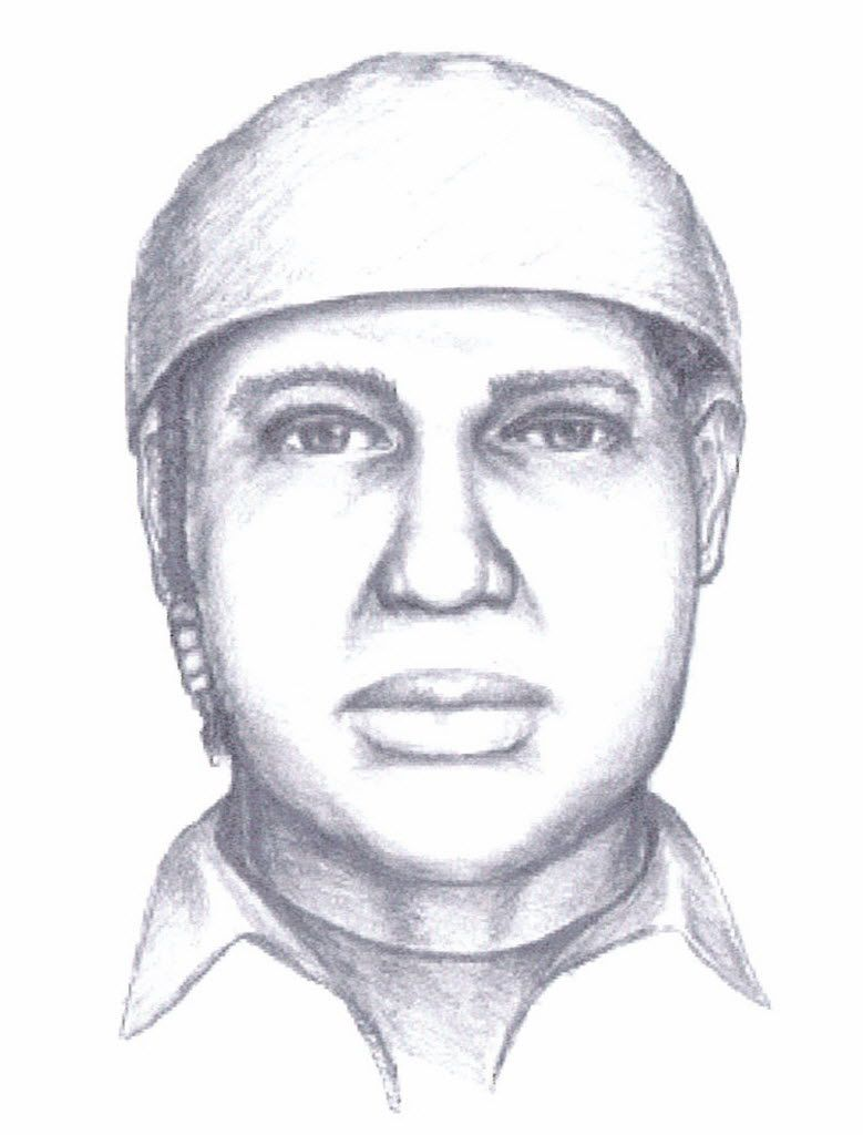 A sketch released of the suspect in the murders of five women at a Tinley Park Lane Bryant store in 2008. | Sun-Times file