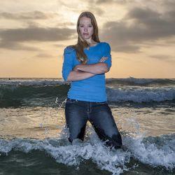 BYU engineering professor Julie Crockett studies waves in the ocean and the atmosphere.