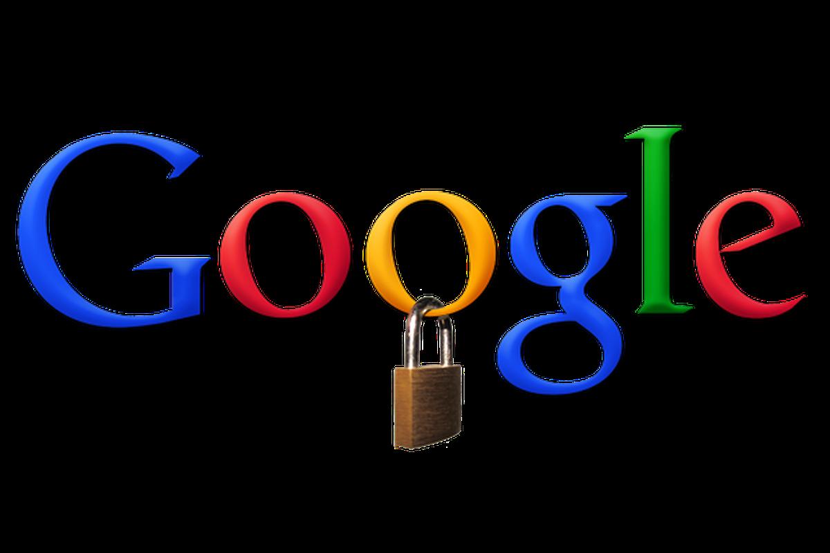 Google lock privacy