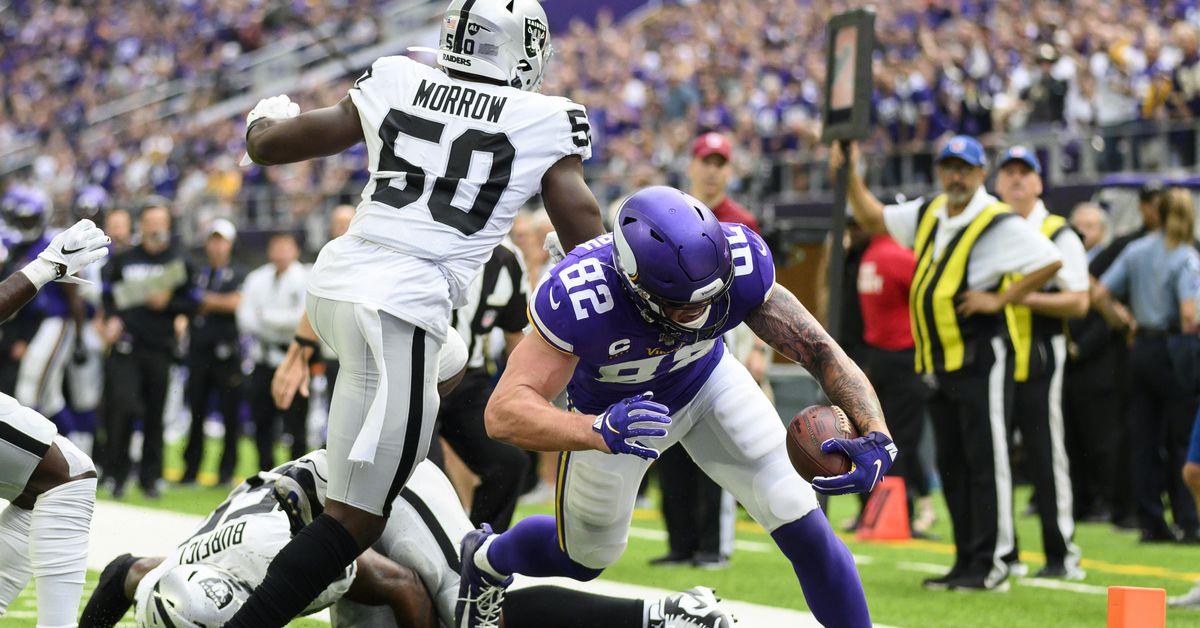 Oakland Raiders at Minnesota Vikings: Second quarter recap and third quarter discussion