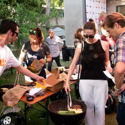 The Ultimate Grill Hack hands on demo with Eater Young Gun Chef Ryan LaChaine and The Verge contributor Christine Sunu.