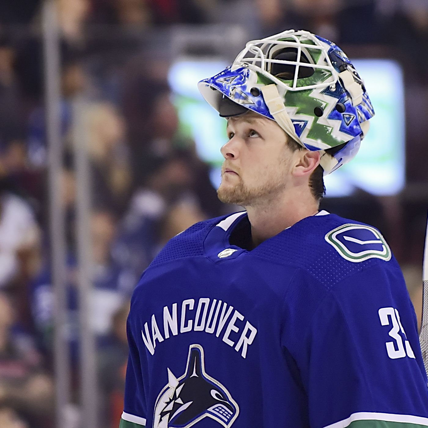 """a53695efa Trade of Anders Nilsson signals """"Demko Time"""" in Vancouver - Nucks ..."""