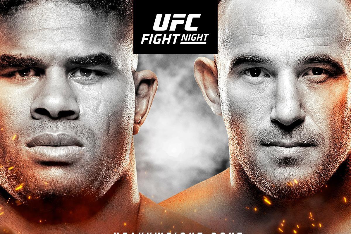 Latest UFC Fight Night 149 car...