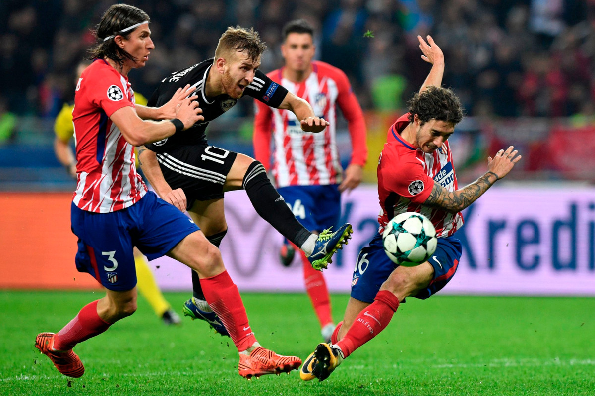 Image result for qarabag atletico madrid