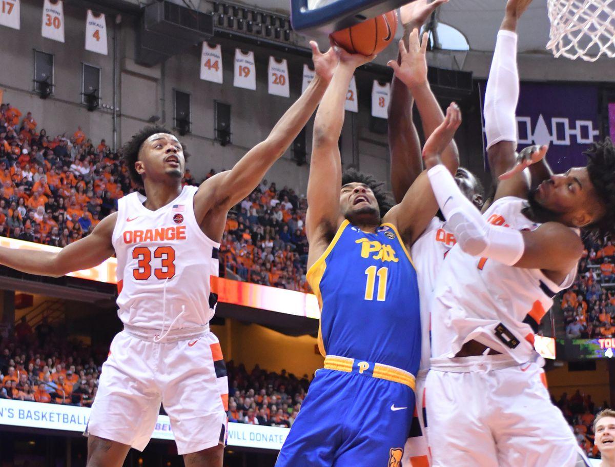 NCAA Basketball: Pittsburgh at Syracuse