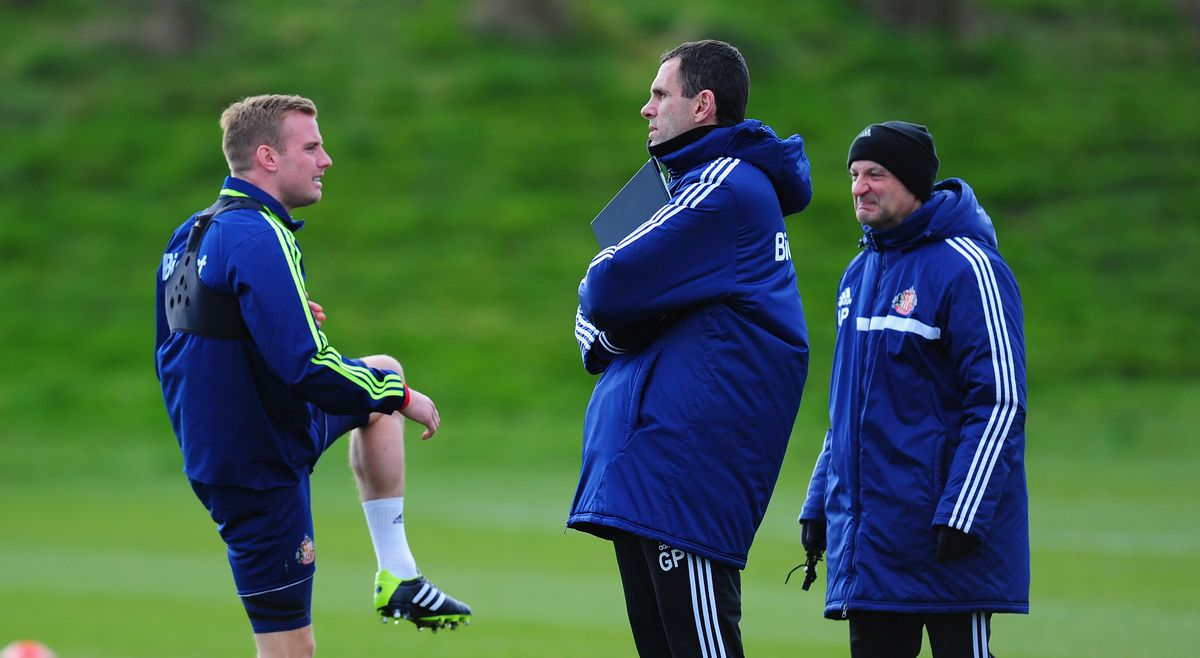 Capital One Cup Final Preview: Sunderland Training Session