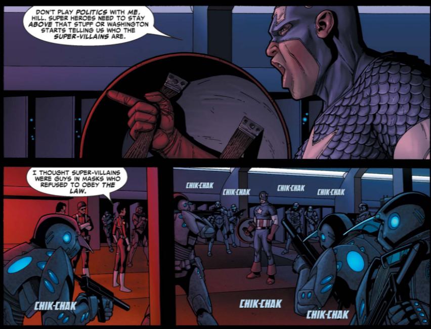 Marvels Civil War And Its Politics Explained Vox