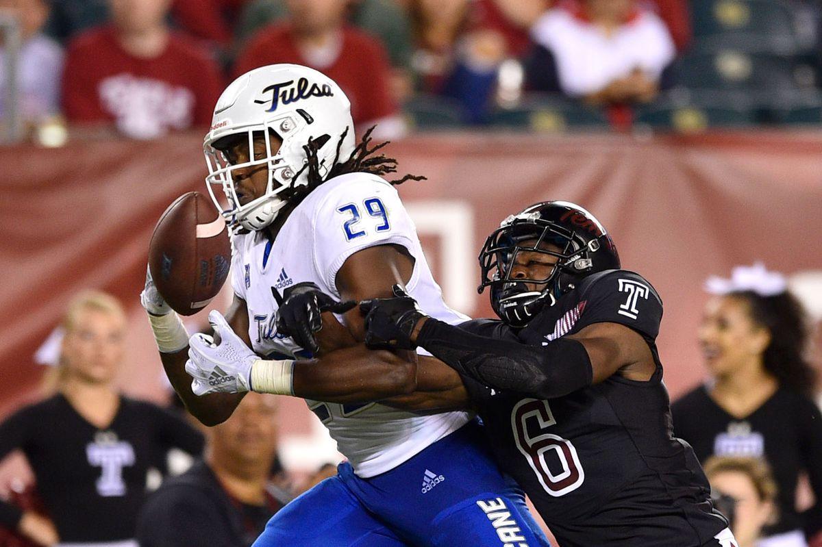 NCAA Football: Tulsa at Temple