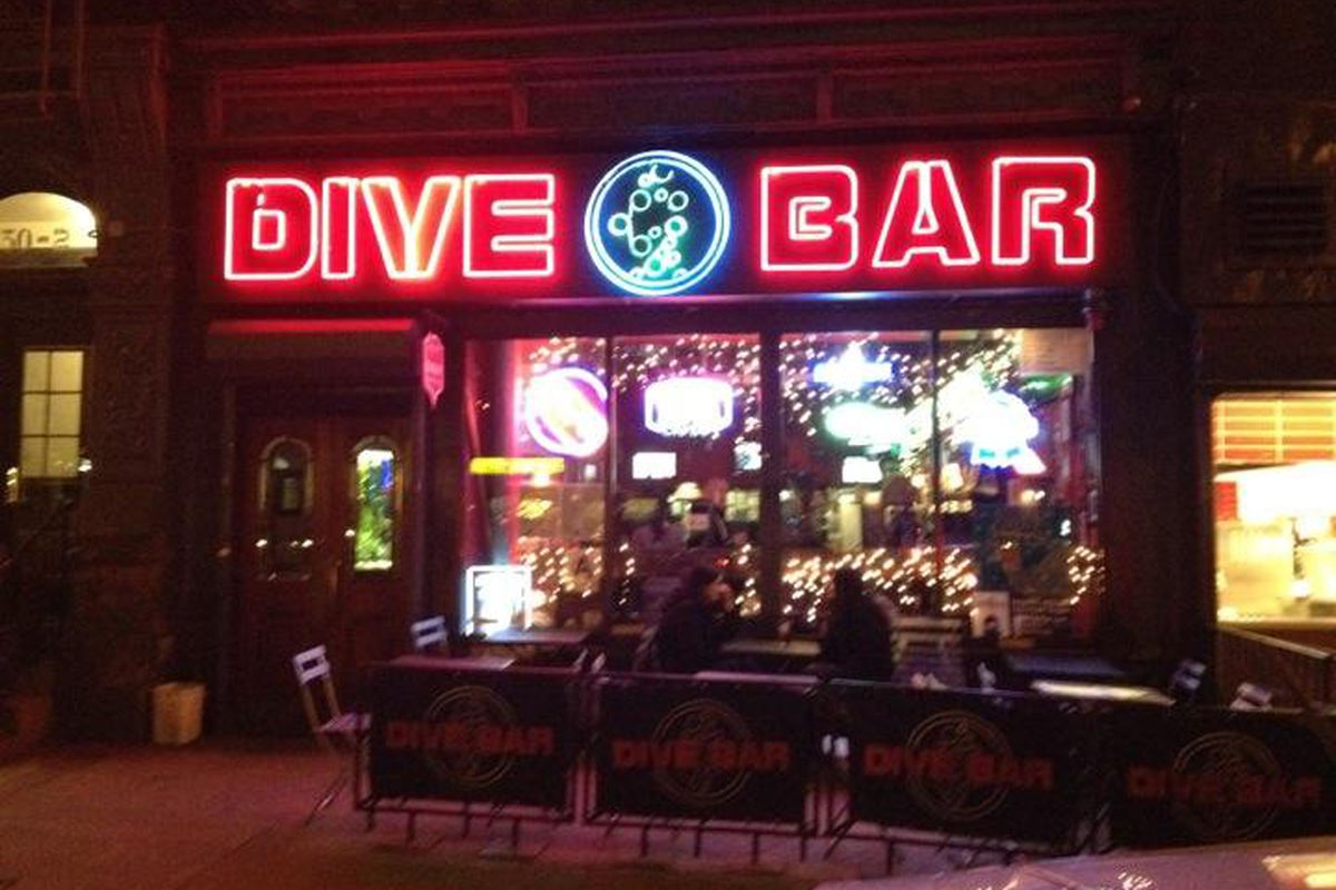 Dive bar fact blast how many real dive bars are there in for Bar dive