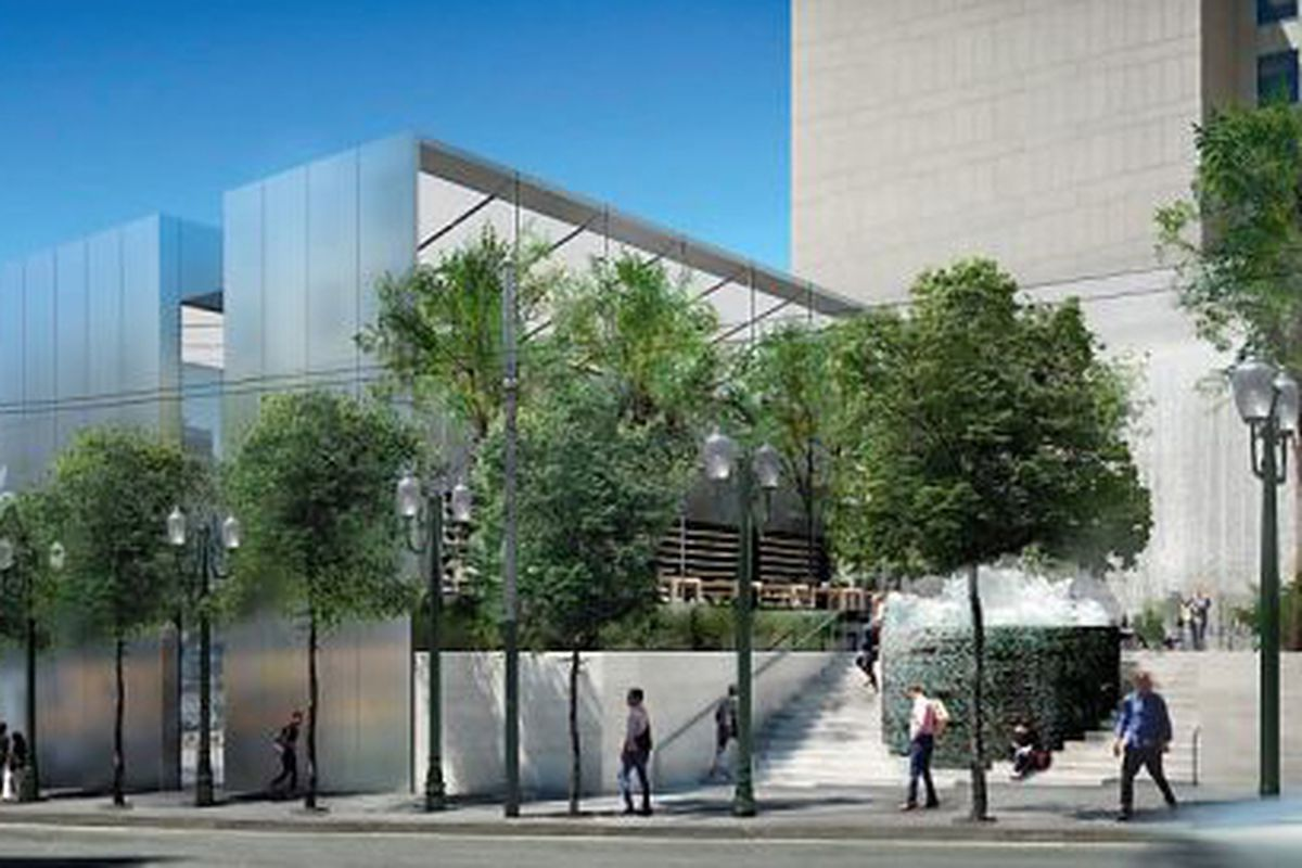 """Photo via <a href=""""http://www.sfgate.com/bayarea/place/article/Apple-Store-s-new-design-preserves-fountain-4762776.php#photo-5099610"""">SFGate</a>"""