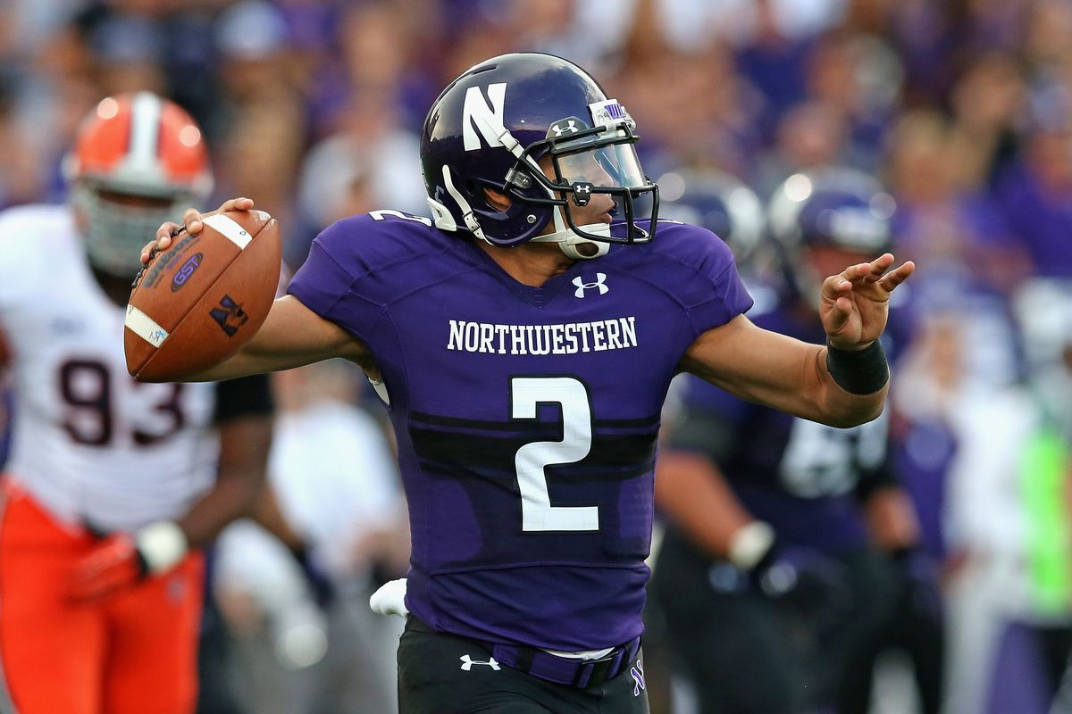 Former Northwestern quarterback Kain Colter, the leader of the push.