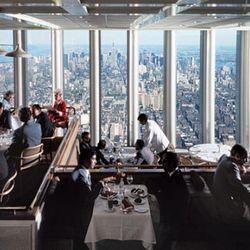 "(Photo:<a href=""http://nymag.com/news/9-11/10th-anniversary/windows-on-the-world/"" rel=""nofollow""> NY MAG/Ezra Stoller/Esto</a>)"