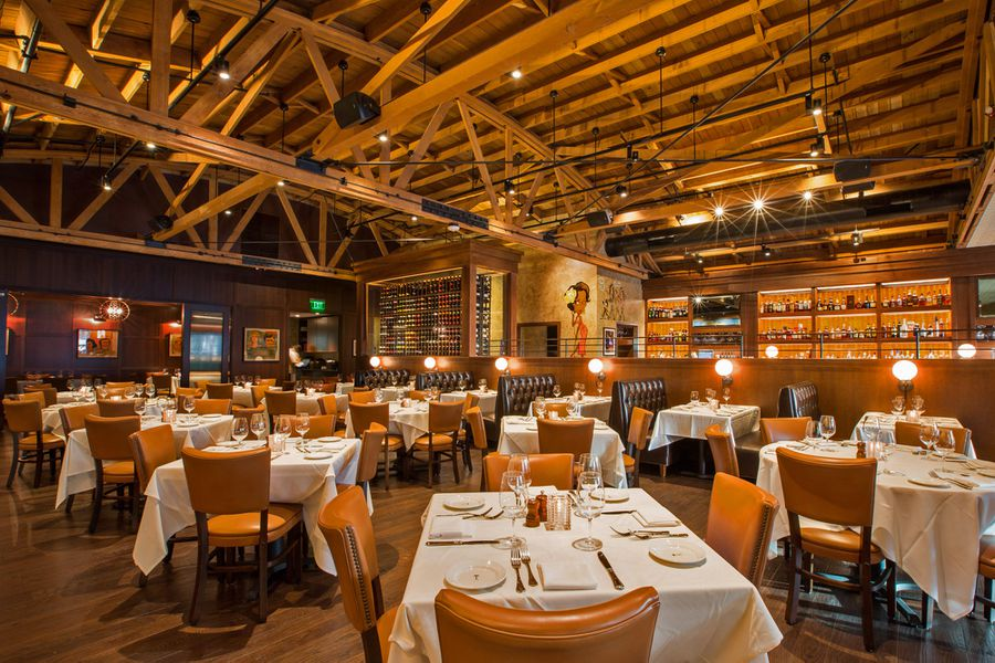 Inside The Palm S Sweeping New Dining Room In Beverly