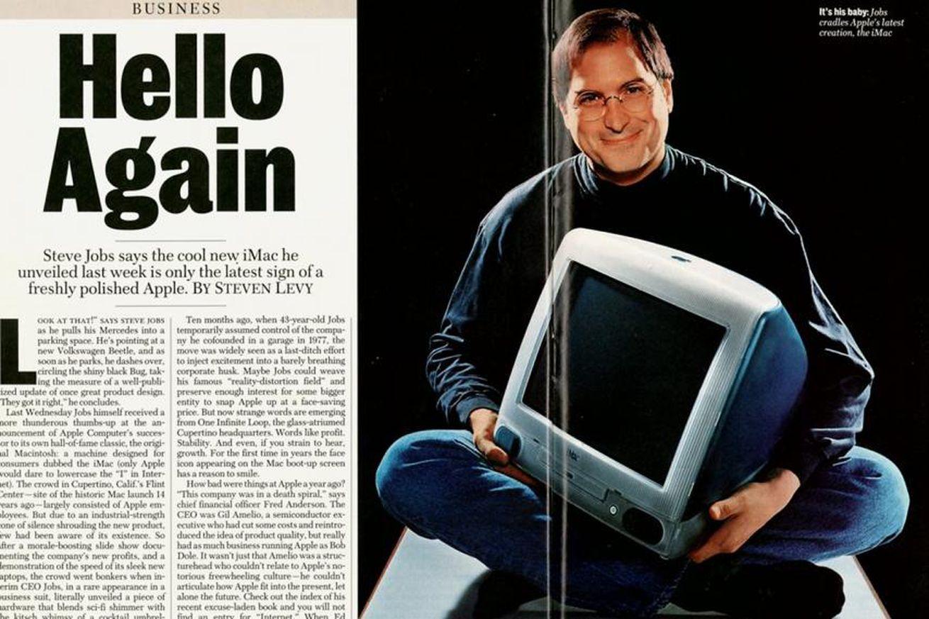 <em>Newsweek's</em> iMac feature, May 1998